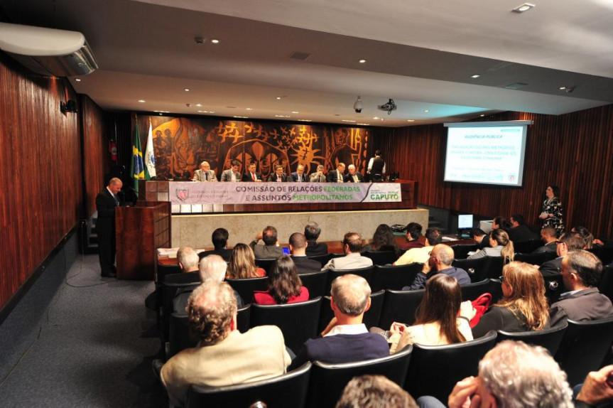 Audiência Pública: Explanação do Pró-Metrópole – Grande Curitiba, uma cidade só, ideias para o Paraná foi uma das ações realizadas pela Comissão de Relações Federadas e Assuntos Metropolitanos da Alep.