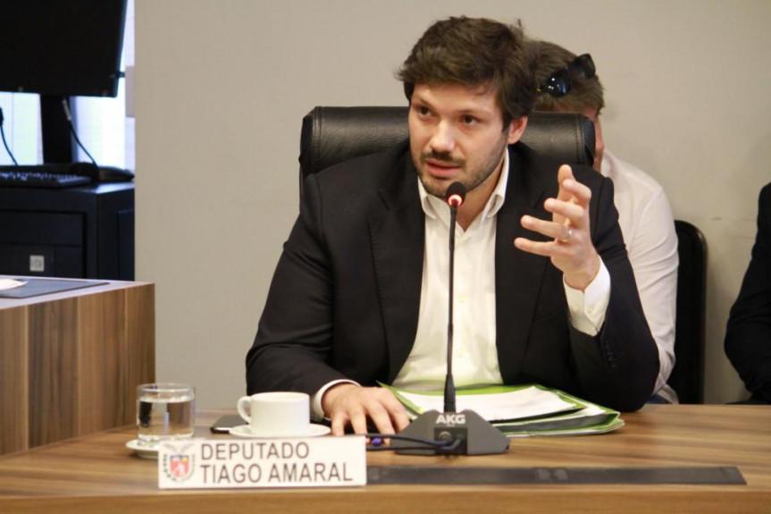 Deputado Tiago Amaral (PSB), um dos autores do projeto que obriga a divulgação no Portal da Transparência dos valores pagos a integrantes de conselhos de empresas públicas