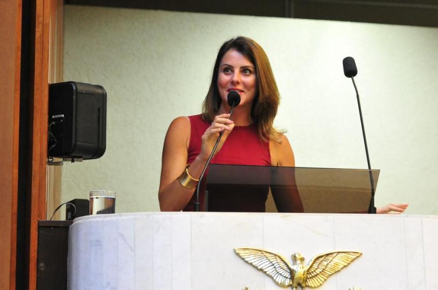Deputada do Parlamento italiano, Renata Bueno.