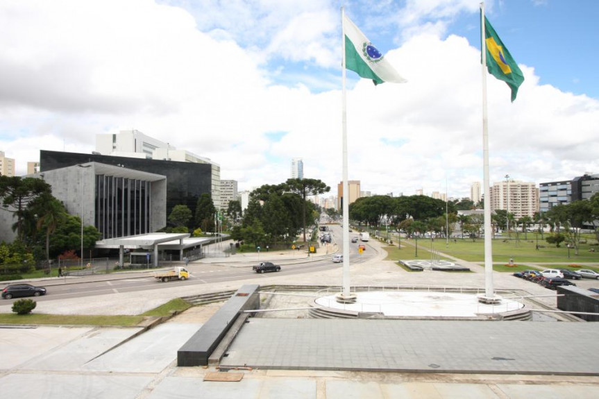 Prédio da Assembleia Legislativa do Paraná.
