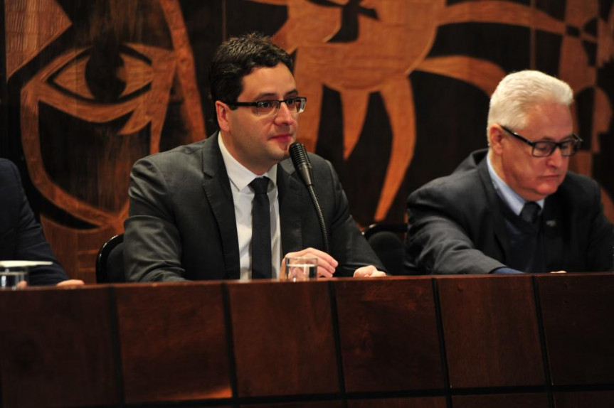 Deputado Homero Marchese, proponente da audiência pública que discutiu as indicações para conselheiros do Tribunal de Contas