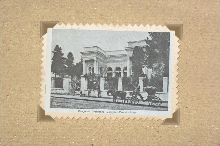 Palácio do Congresso em 1918.