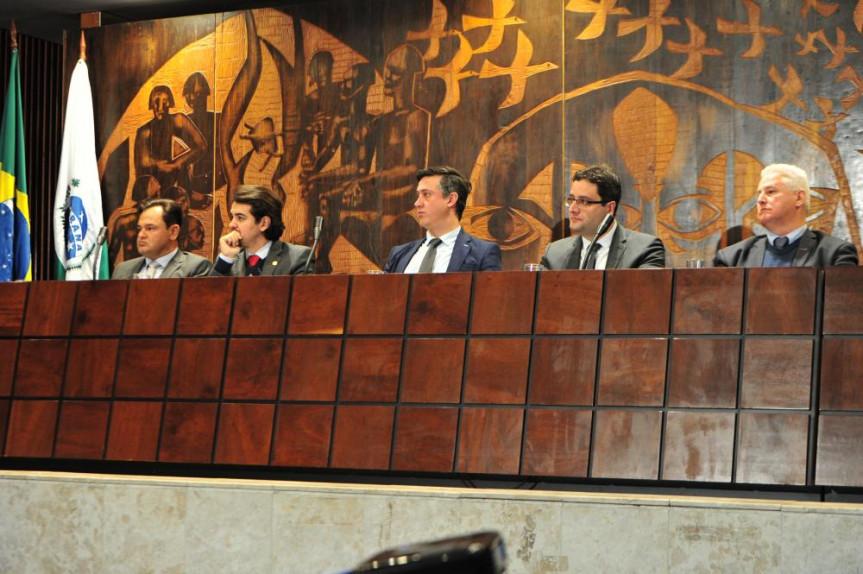 Deputados Luiz Fernando Guerra e Subtenente Everton também participaram dos debates sobre indicações de conselheiros do Tribunal de Contas.