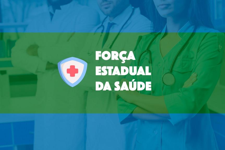 Sancionada a lei que cria a Força Estadual da Saúde no Paraná.
