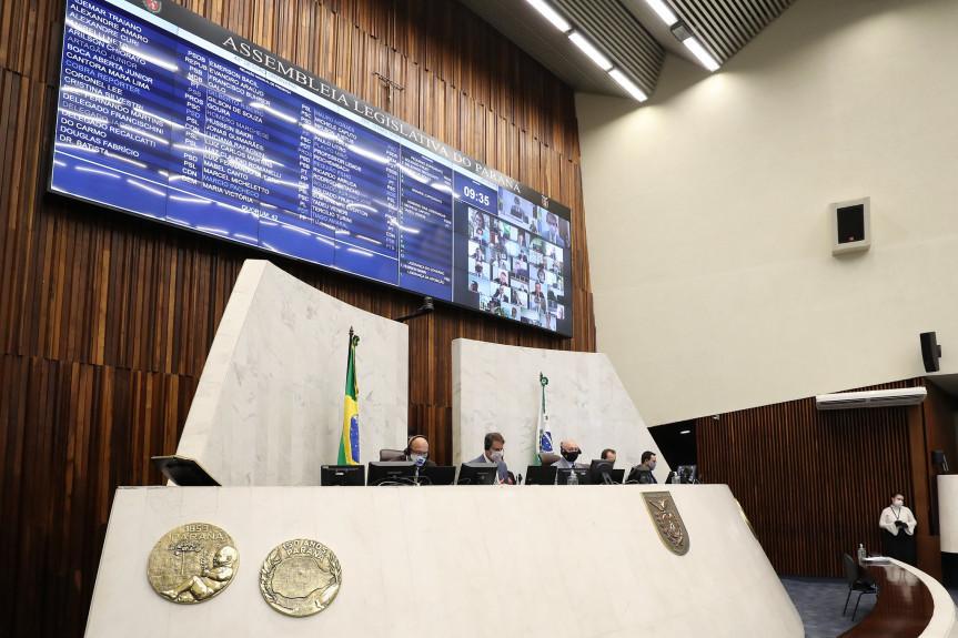 Projeto que cria a Força de Saúde do Paraná foi aprovado em segundo turno na sessão desta terça-feira (19) da Assembleia Legislativa do Paraná.