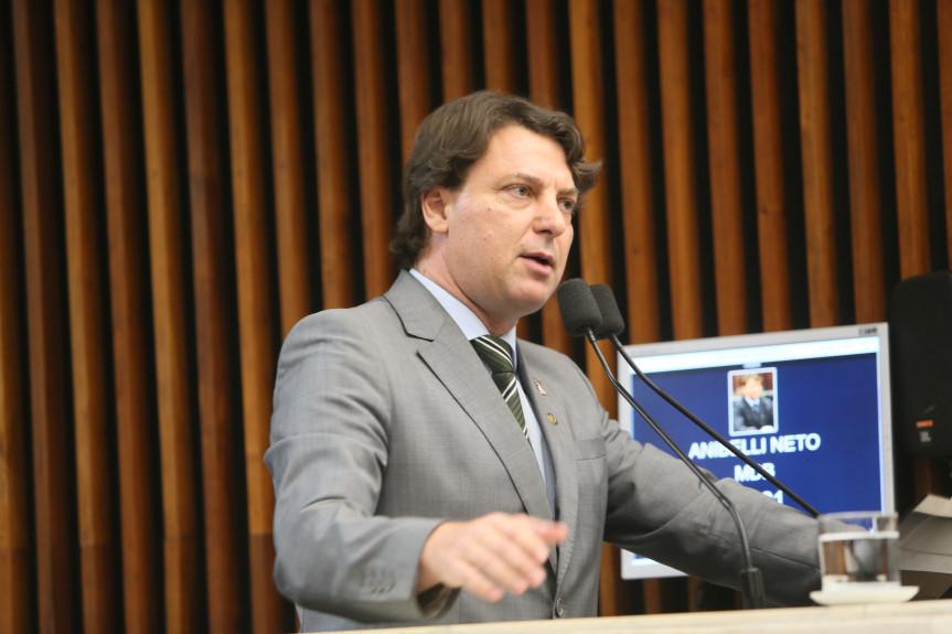 Deputado anibelli Neto (MDB) presidente da Comissão de Agricultura, Pecuária, Abastecimento e Desenvolvimento Rural da Assembleia.