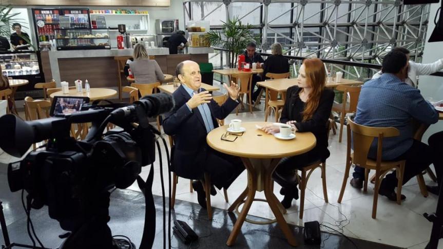 Deputado Dr. Batista é o entrevistado do Café com Política desta quinta-feira (11).