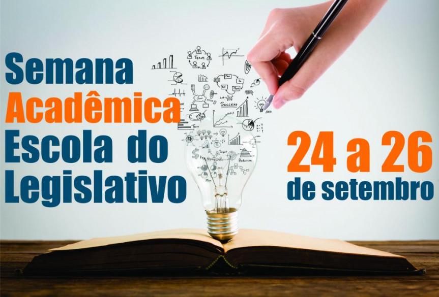 Evento organizado pela Escola do Legislativo reúne trabalhos selecionados de programas de pós-graduação de universidades paranaenses.
