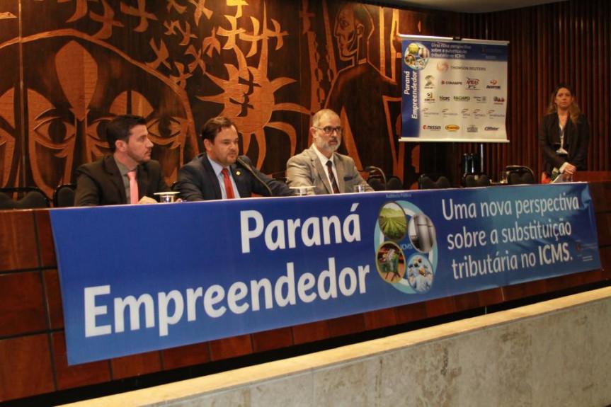 Deputado Subtenente Everton (PSL) propôs a criação de um Comitê para debater a substituição tributária. Encontros seguem para o interior do Paraná.