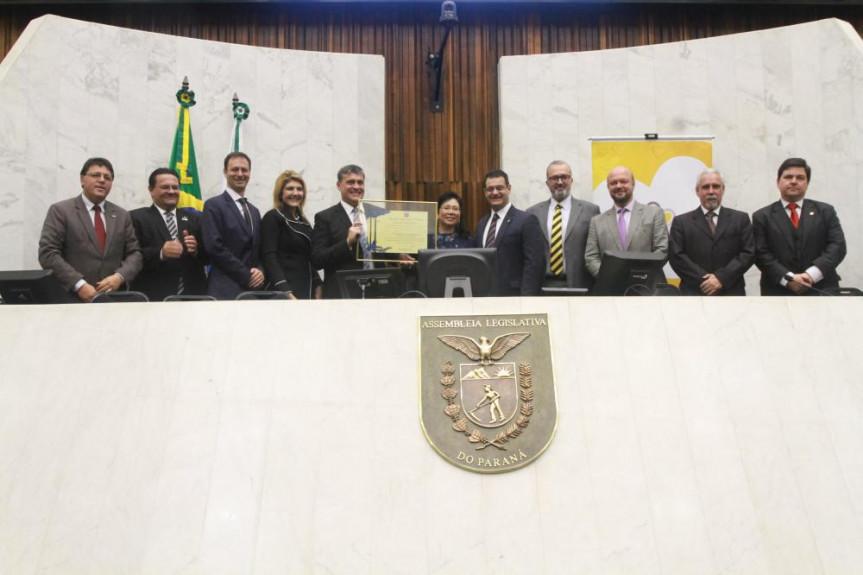 Sessão solene em homenagem aos 110 anos da Universidade Tecnológica Federal do Paraná - UTFPR.