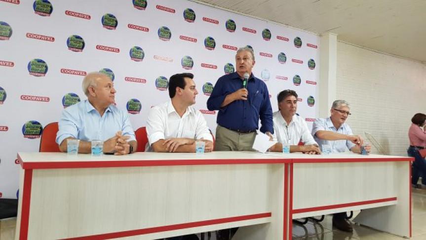 Deputados prestigiam a 32ª edição do Show Rural, em Cascavel.