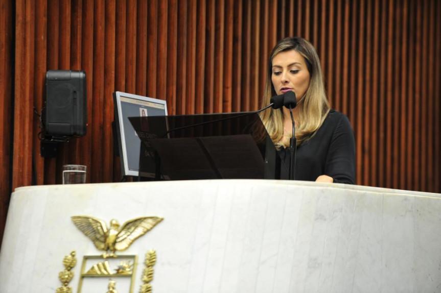 Deputada Mabel Canto (PSC):  a forma mais adequada é a de nascer bem.