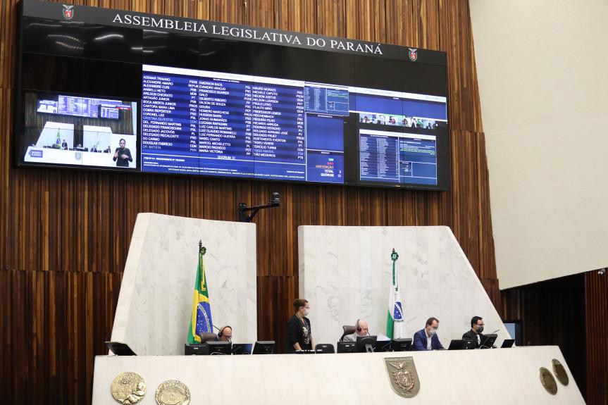 Deputados aprovam proposta que estabelece uma série de medidas para resguardar a saúde e os direitos dos paranaenses durante o enfrentamento do coronavírus.