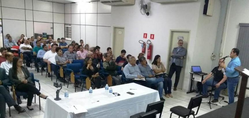 Deputado Subtenente Everton (PSL) percorreu sete cidades para debater a Substituição Tributária no Paraná.