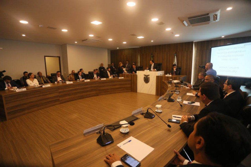 Audiência pública: em debate o o fim das aposentadorias aos ex-governadores.
