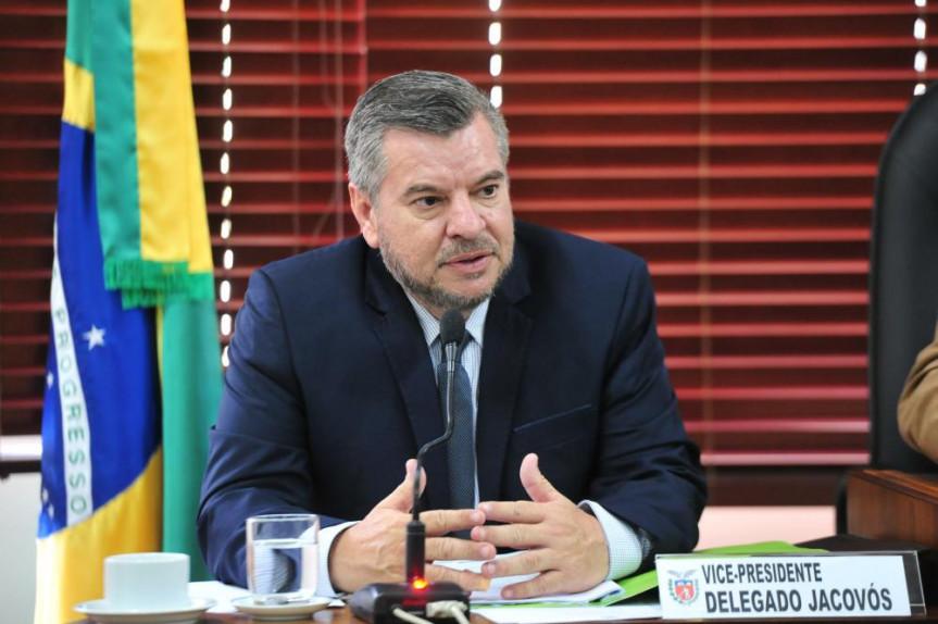 Deputado Delegado Jacovós (PL) foi o relator na Comissão de Finanças e Tributação do projeto do Executivo que institui o Fundo Estadual de Combate à Corrupção.