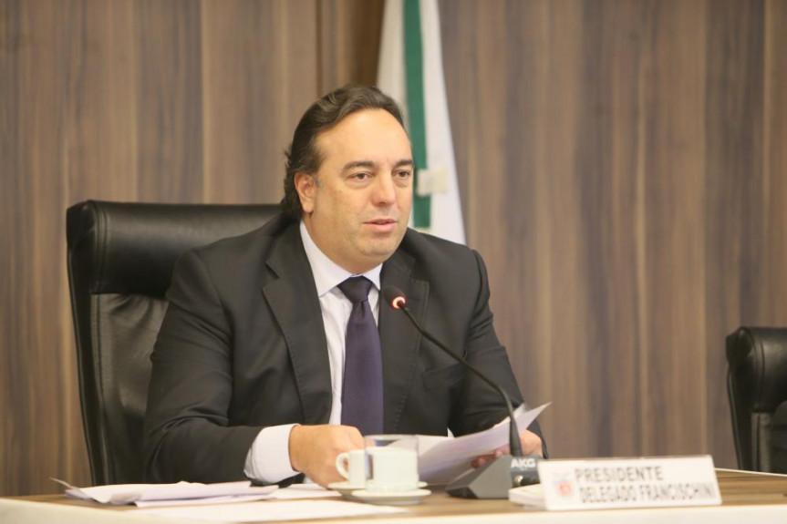 Deputado Delegado Francischini, presidente da CCJ. Comissão volta a se reunir em agosto, após o recesso legislativo.
