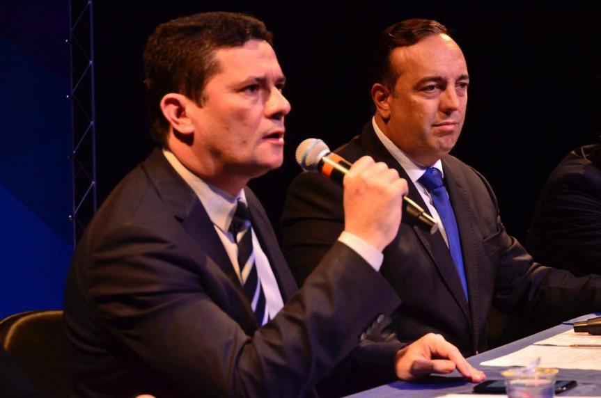 Ministro Sérgio Moro participou da audiência pública sobre prisão em segunda instância promovida pela CCJ da Assembleia Legislativa.