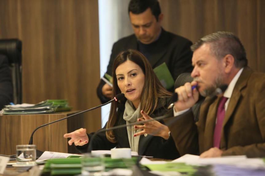 Em dia de reunião especial da CCJ com projetos voltados à políticas públicas para mulheres, a deputada Mabel Canto, suplente na Comissão, participou dos debates como titular.