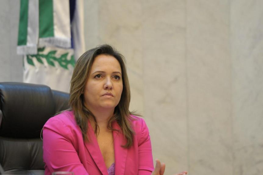Deputada Marla Tureck (PSD).