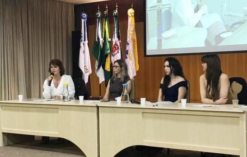 Cristina Silvestri apresentou os trabalhos da Procuradoria da Mulher da Alep, que completou dois meses de instalação.
