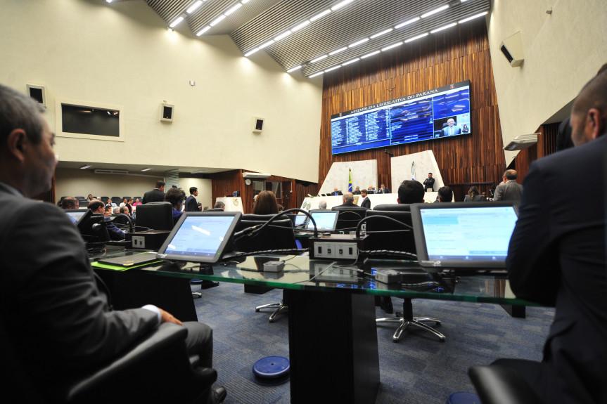 Na sessão plenária desta terça-feira (10) os deputados votaram as emendas de plenário aos projetos que tratam da reforma da Previdência dos servidores estaduais.