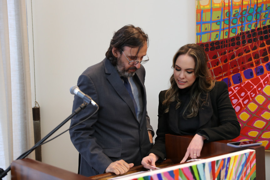 Paolo Ridolfi recebe título de Cidadão Benemérito do Paraná.