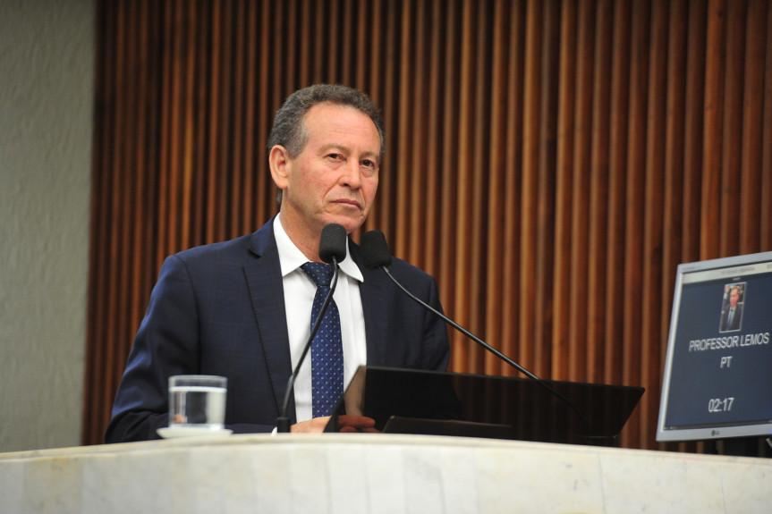 Deputado Professor Lemos (PT) será o coordenador da Frente Parlamentar dos Homens pelo fim da violência contra às Mulheres da Assembleia Legislativa do Paraná.