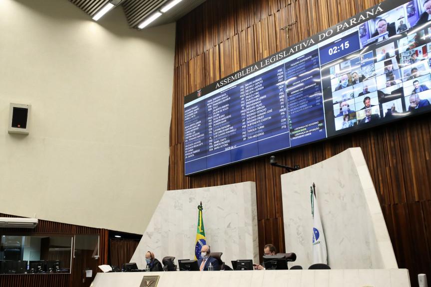 Proposta que antecipa a eleição da Mesa Diretora da Assembleia Legislativa foi apresentada pela Comissão Executiva e apoiada em plenário pela ampla maioria dos deputados.