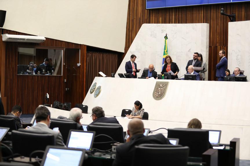 Durante a sessão plenária de segunda-feira (10) será entregue o título de tidadão Honorário do Estado ao desembargador Carlos Eduardo Thompson Flores Lenz.
