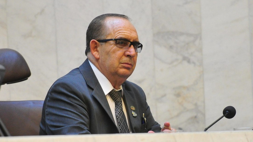 Deputado Delegado Recalcatti (PSD), relator na Comissão Especial que analisou a PEC 1/2020, que trata da Ponte de Guaratuba.