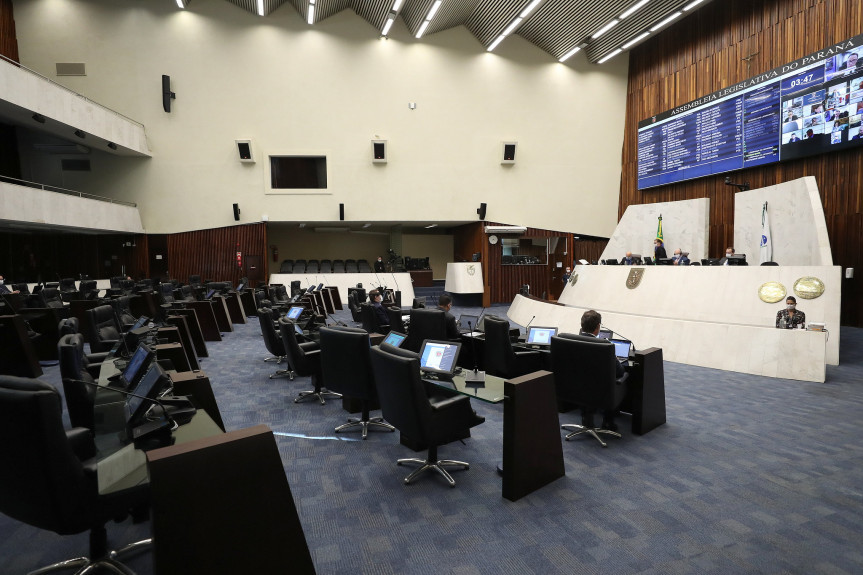 Deputados aprovam na sessão desta segunda-feira (27) admissibilidade da PEC que permite a concorrência pública para a construção da Ponte de Guaratuba