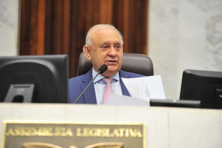Presidente da Assembleia, deputado Ademar Traiano, anunciou os nomes dos deputados que irão compor a PEC da Previdência