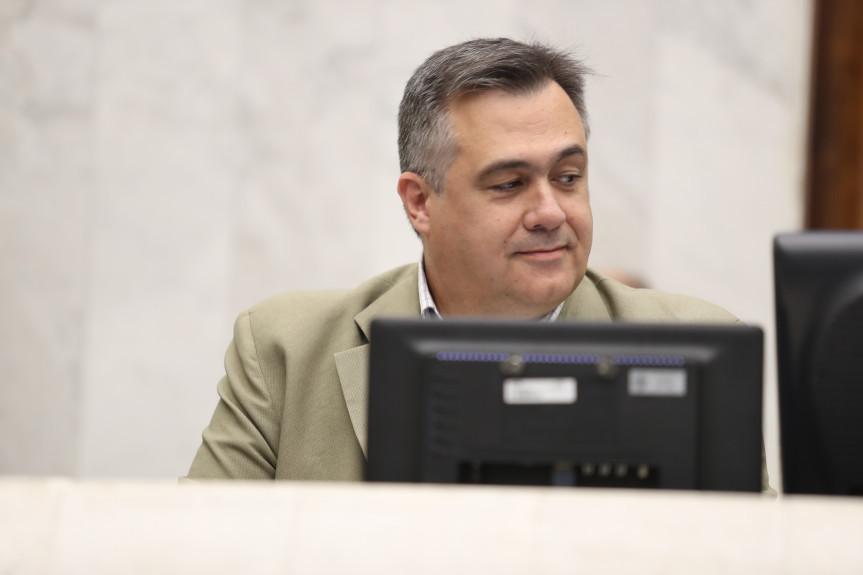 Secretário de Estado da Saúde, Beto Preto.