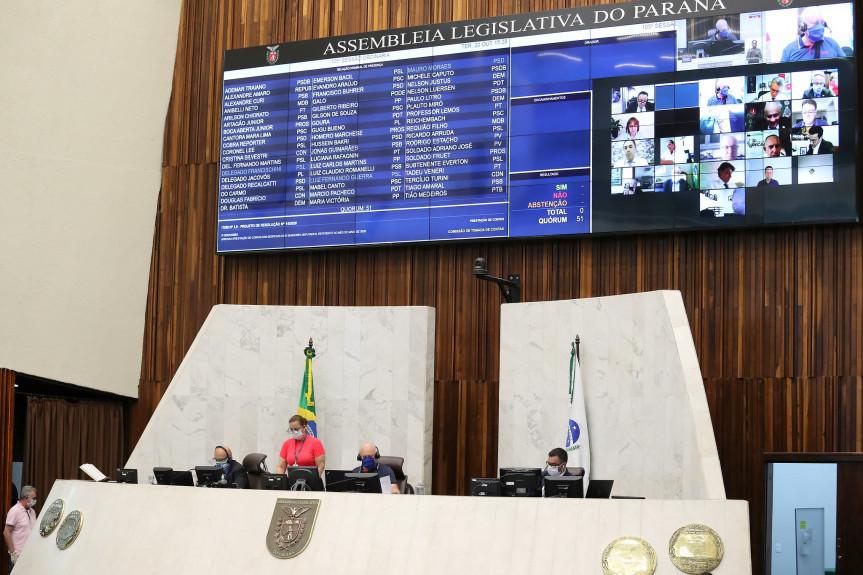 Proposta aprovada pelos deputados estaduais adequa o Paraná ao convênio celebrado entre o Confaz e o TSE, isentando do imposto as doações de equipamentos de proteção contra a covid-19 para uso no dia das eleições municipais.