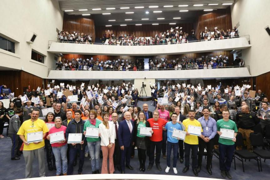 Aulão faz parte das ações do Assembleia no Enem, projeto desenvolvido pela Diretoria de Comunicação da Assembleia Legislativa do Paraná