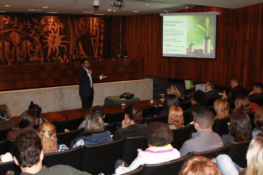 Curso da Escola do Legislativo teve uma grande participação de público.