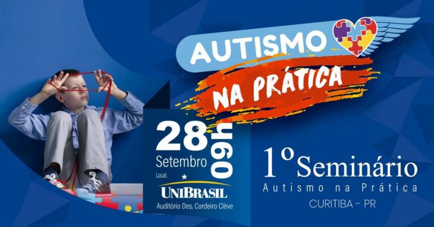 1º Seminário Autismo na Prática é voltado para a sociedade, os pais e profissionais que atuam na área.
