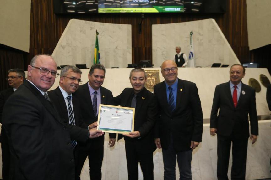 Homenagem proposta pelo deputado Coronel Lee (PSL) destacou os trabalhos sociais da Igreja Presbiteriana do Brasil.