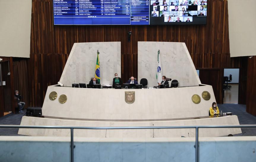 Na sessão plenária desta quarta-feira (5) os deputados aprovaram o estado de calamidade pública ao município de Jesuítas.