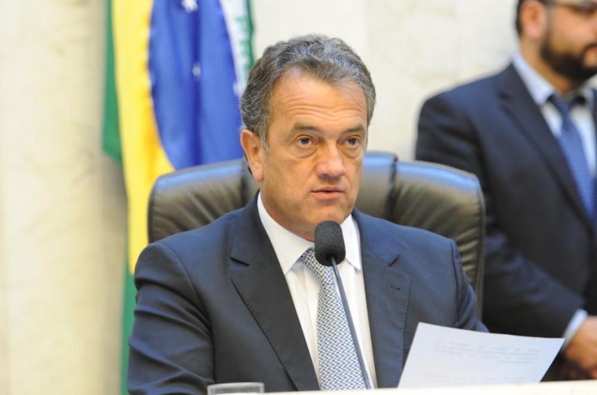 Primeiro secretário da Alep, deputado Plauto Miró (DEM).