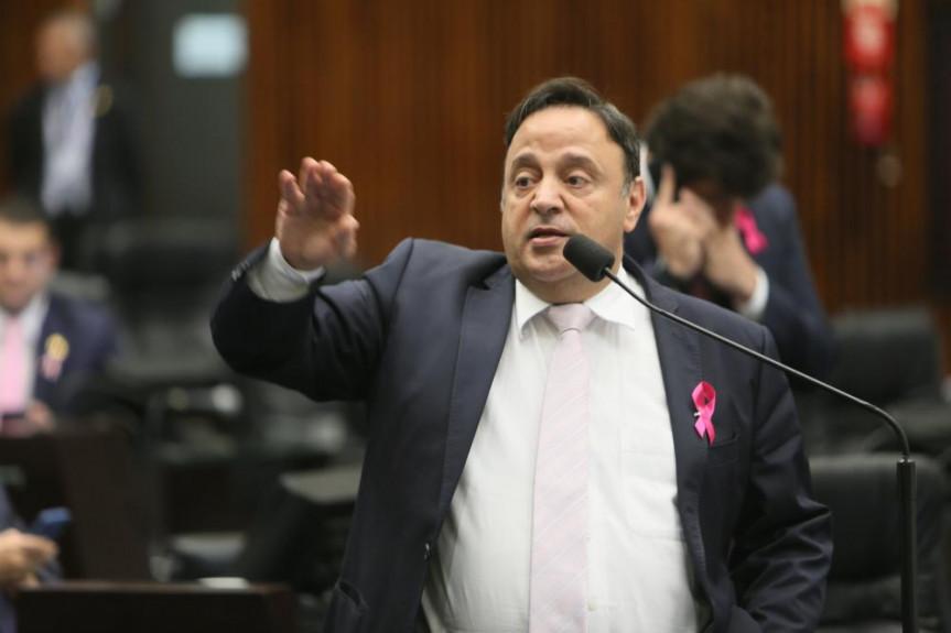 Deputado Hussein Bakri (PSD), líder do Governo na Alep, destaca protagonismo do Paraná em zerar IPVA de carros elétricos.