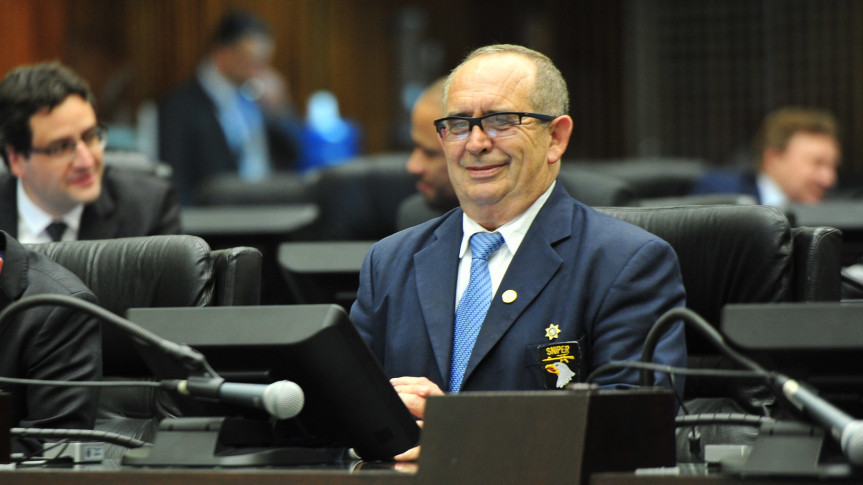 Deputado Delegado Recalcatti (PSD), um dos autores do projeto de lei que cria o o Circuito Cicloturístico do Alto do Iguaçu