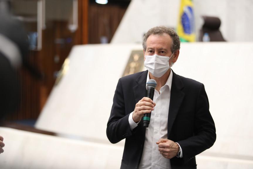 Deputado Professor Lemos (PT).