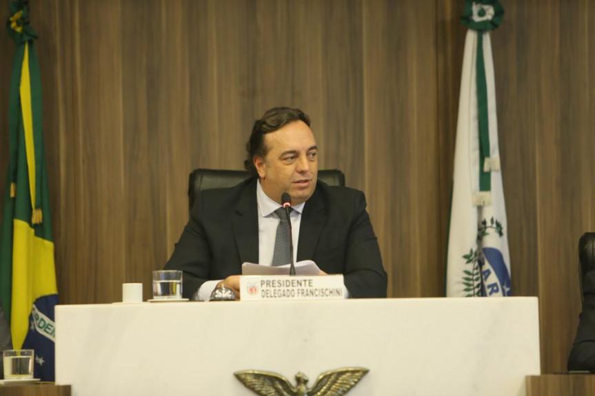 Deputado Delegado Francischini (PSL), presidente da CCJ.