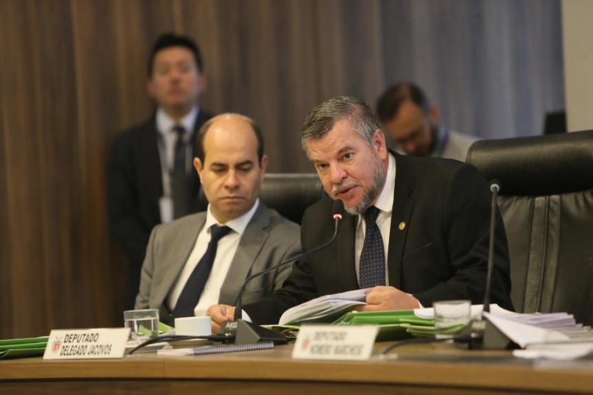 Deputado Delegado Jacovós (PL), relator na CCj do projeto que exime policiais de pagamento de dano de viaturas.