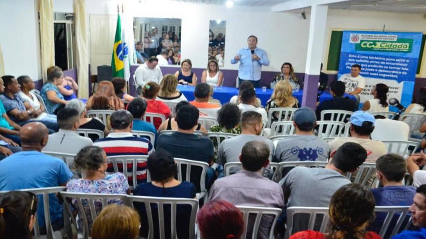 Deputado Delegado Francischini (PSL), presidente da CCJ, comandou os trabalhos na primeira reunião do projeto CCJ Cidadã.