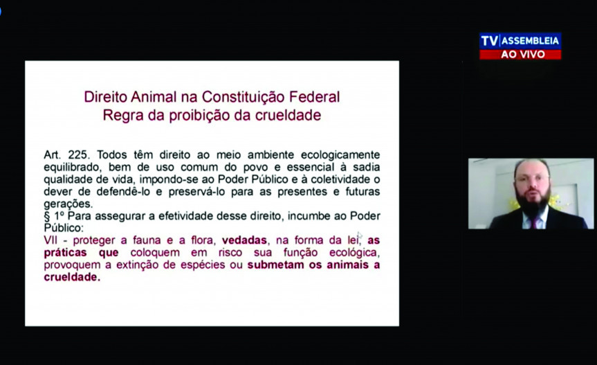 Juiz Federal Vicente de Paula Ataide Júnior é especialista em Direito Animal
