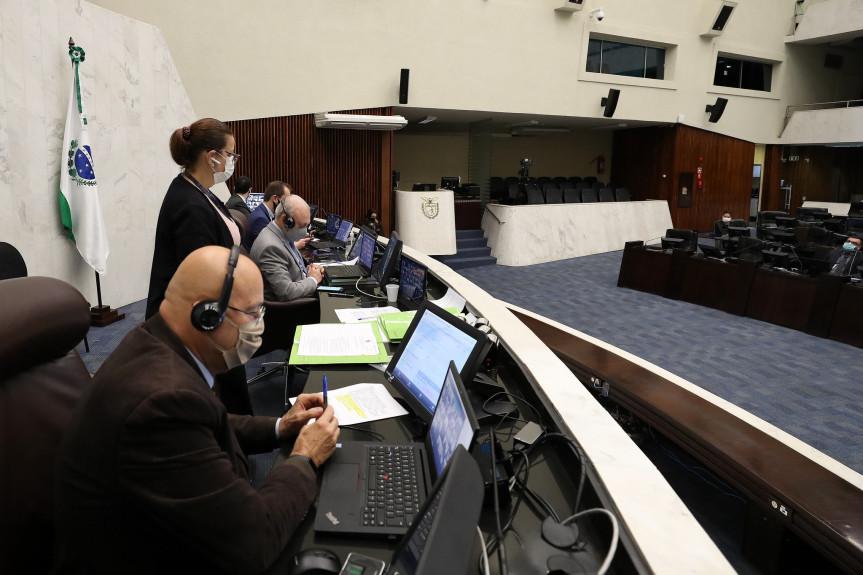Na sessão plenária desta quarta-feira (10) os deputados aprovaram projeto que reconhece a situação de calamidade pública em 10 novos municípios.