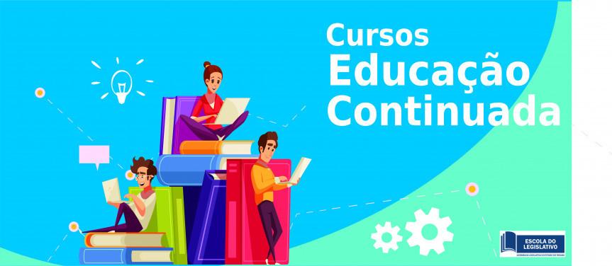 Escola do Legislativo da Assembleia oferece diversos cursos online em diferentes áreas de formação continuada, com emissão de certificado e de forma gratuita.